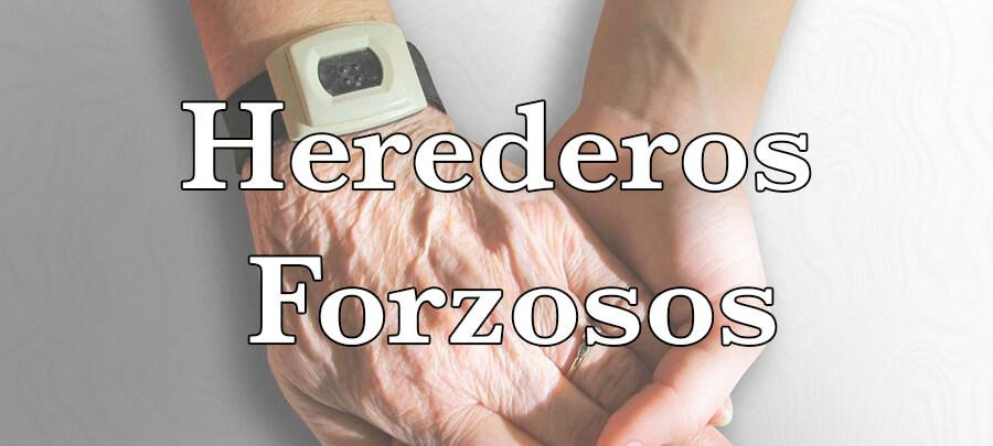 Herederos forzosos