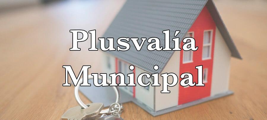 Plusvalía municipal en herencias y donaciones